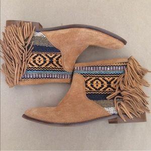 Zara Trafulc Tan Boots